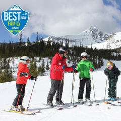 #1 Family Ski Resort: Why Big Sky is a Family Favorite - ©Michel Tallichet
