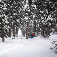 Big snow in Squaw - ©Ben Arnst
