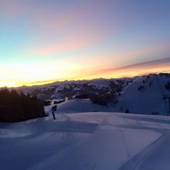 Morgenlicht in der SkiWelt Scheffau - ©Facebook SkiWelt Wilder Kaiser Brixental