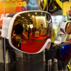 Stijlvolle goggles bij Adidas. - ©ISPO 2016