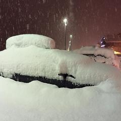 Snowfall in Livigno, 9.2.2016 - ©Facebook Livigno
