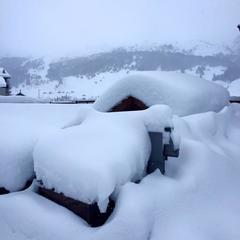 Frischer Schnee in Italiens Skigebieten (Februar 2016) - ©Facebook Mottolino Fun Mountain