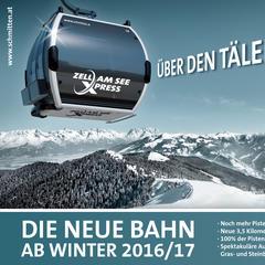 Neu 16/17: Der ZellamSeeExpress - ©Zell am See Schmitten