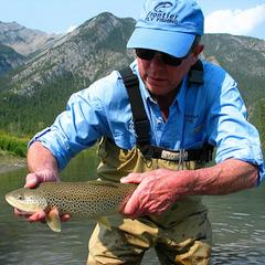 Upper Bow River - ©Banff Fishing Guides