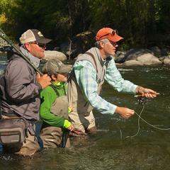 Gore Creek Fishing - ©Beaver Creek