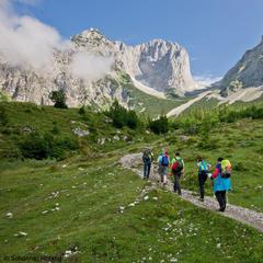 Klettersteiggeher in der Region Wilder Kaiser - ©Wilder Kaiser   Roland Schonner