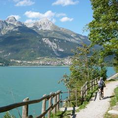 Seen im Trentino: Baden in den Bergen  - ©Armin Herb