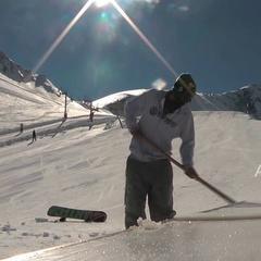 Le snowpark de Luz Ardiden