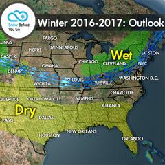 16/17 Seasonal Outlook - ©Meteorologist Chris Tomer
