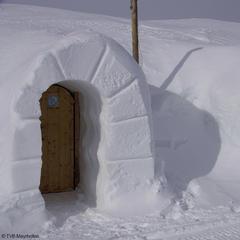 Noc w igloo na górze Ahorn - ©TVB Mayrhofen