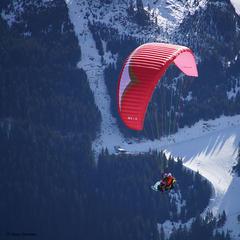 Paragleiten in Mayrhofen - ©Gesa Temmen