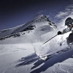Gletscher und Berge in Zell am See: Alpiner Winter mit 100 Prozent Schneegarantie