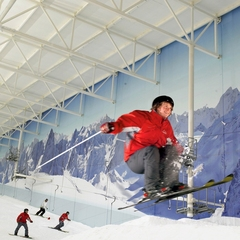 Freeskiing, Chill Factore, UK