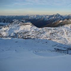 Aussicht vom Mölltaler Gletscher - ©Danja Haslacher
