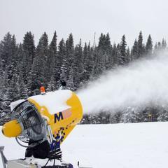 Beschneiung in Breckenridge