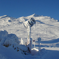 Beschneiung im Skigebiet Wipptal - ©Wipptal