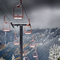 Copper Mountain Snowfall