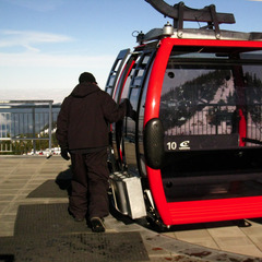 Mt. Rainier Gondola at Crystal Mountain - ©Becky Lomax
