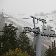 September 25th Snowfall, Canyons Resort, Utah - ©Canyons Resort