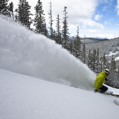 Christmas powder at Keystone
