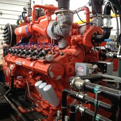 Blue Spruce Farms' Engine. Photo courtesy of Green Mountain Power.