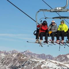 It turned out to be a spectacular bluebird day at Copper. - ©Liam Doran