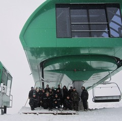 The new Ted's Express is ready to roll at Alyeska Resort. Photo courtesy of Alyeska Resort.
