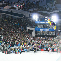 Crowds flock to the Winter X-Games Tignes - ©A. Parant/X Games