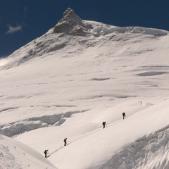 Renowned ski mountaineer Greg Hill sought to ski over 2 million vertical feet in 365 days.  - ©Greg Hill