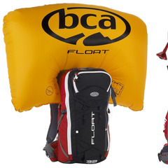 Backcountry Access Float 32 Airbag Backpack—Backcountry skiing and riding comes with risks and dangers that aren't always present when inside the resort boundaries. With backcountry skiing comes the risk of avalanche danger and the BCA Float 32 Airbag is  - ©Backcountry Access