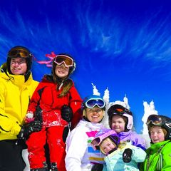 family at Big White