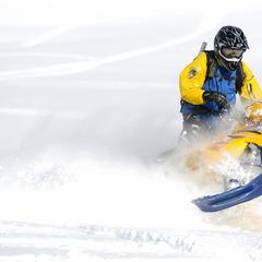 Schneemobil-Action bei Dunton Hot Springs - ©Norbert Eisele-Hein