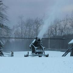 Snowmaking at Jack Frost ski area. Photo Courtesy of Jack Frost.