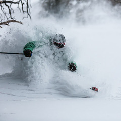 A powder day in Big Sky will cure what ails you. - ©Charlie Bolte