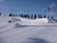 The Terrain Park at Highlands of Olympia.