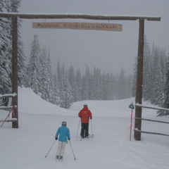 Entering Putnam Creek area at Silver Star. Photo by Becky Lomax.