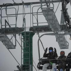 Skiers and snowboarders are pumped for snow at Burke Mountain. 12/27/2012