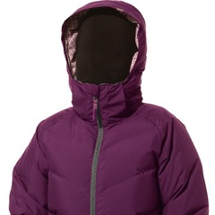 Dakine Kensington Down Jacket - The Kensington Down Jacket has a stylish look but the technical features mean business: A soft, 100 percent recycled polyester waterproof/breathable exterior with taped seams houses premium goose down to keep you warm and d