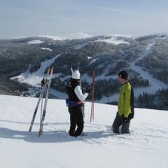 Point neige dans les Vosges (10/01/2013)