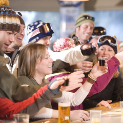 Bar and restaurant workers are highly sort after jobs in the Alps