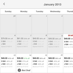 Screenshot of Snowshoe's new e-store with deals that vary by date, quantity and conditions. The resort plans to test the site through January with the possibility of offering it throughout the season.