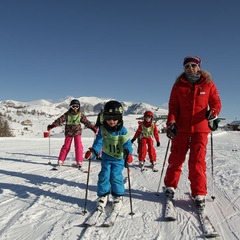 Cours de ski  l'ESF de Valberg
