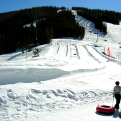 The Copper Mountain tubing hill is at East Village.