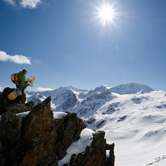 Freeride Hot Spots Austria - Stubai Glacier