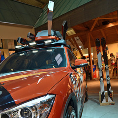 A BMW with K2 design at ISPO 2013