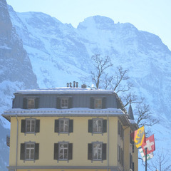 The Lauterbrunnen Valley could be considered the Yosemite of the Alps.
