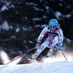 Anne Sophie Barthet sur la descente / Super combiné, Schladming 2013 - ©Alexis Boichard, Agence Zoom