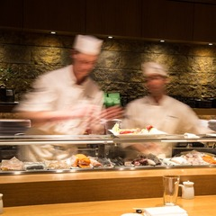 Not into sitting in the main dining room? Try the small sushi bar located just behind the reception desk. 