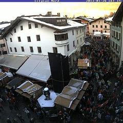 Race week in Kitzbuhel means round-the-clock partying for race goers. It also makes getting rest a difficult task for racers.