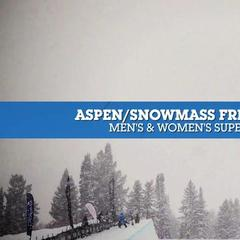Aspen/Snowmass Freeskiing Open - Superpipe Finals